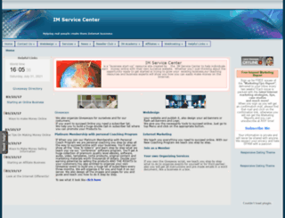 imservicecenter.com screenshot