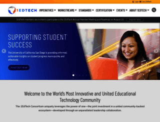 imsglobal.org screenshot