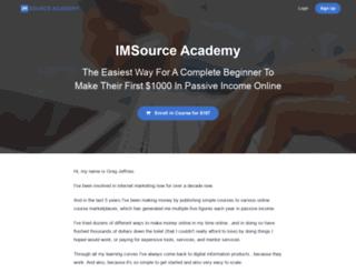 imsourceacademy.com screenshot