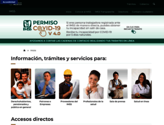 imss.gob.mx screenshot