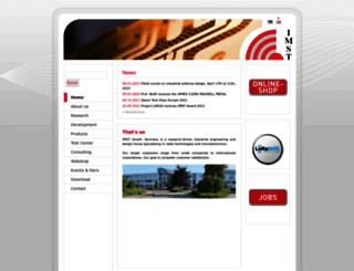 imst.com screenshot