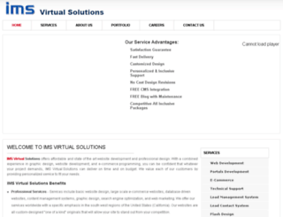 imsvirtual.com screenshot