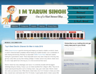 imtarunsingh.blogspot.in screenshot