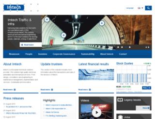 imtech.com screenshot