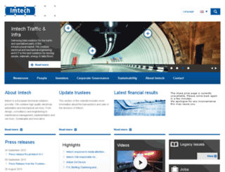 imtech.eu screenshot