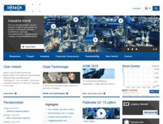 imtech.nl screenshot