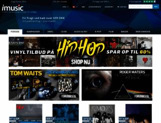 imusic.dk screenshot