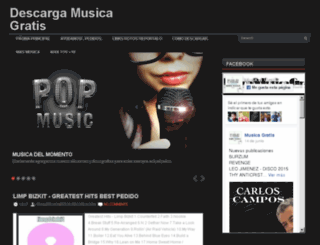 imusicag.blogspot.mx screenshot