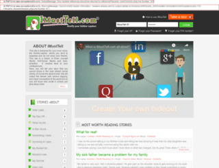 imusttell.com screenshot