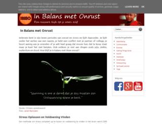 in-balans-met-onrust.blogspot.nl screenshot