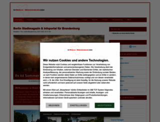 in-berlin-brandenburg.com screenshot