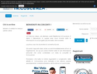 in-coscenza.com screenshot