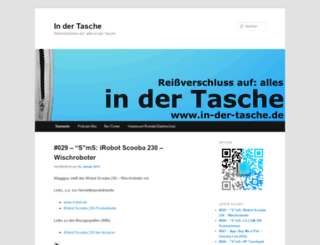 in-der-tasche.de screenshot