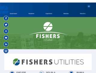 in-fishers.civicplus.com screenshot