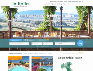 in-italia.dk screenshot