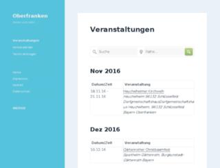 in-oberfranken.de screenshot