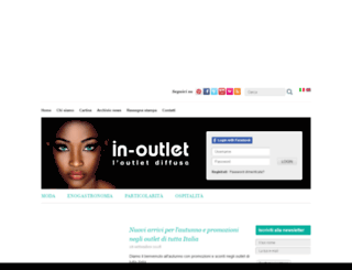 in-outlet.it screenshot