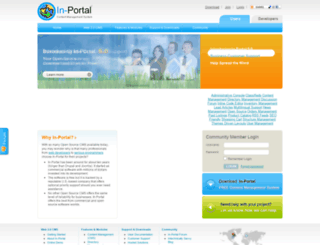 in-portal.com screenshot