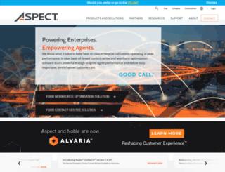 in.aspect.com screenshot