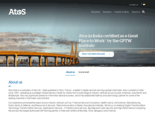 in.atos.net screenshot