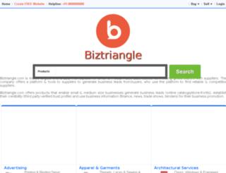 in.biztriangle.com screenshot