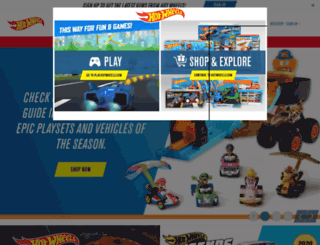 in.hotwheels.com screenshot