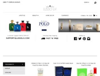 in.lussoliv.com screenshot