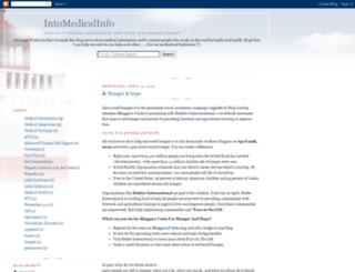 in2medicalinfo.blogspot.com screenshot