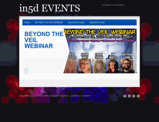 in5devents.com screenshot
