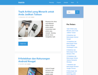 inaicta.web.id screenshot