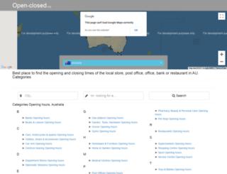 inala.au.open-closed.org screenshot
