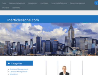 inarticleszone.com screenshot