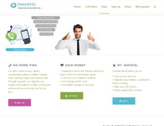 inayatel.com screenshot