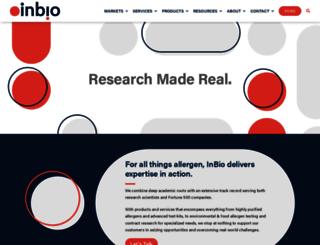 inbio.com screenshot