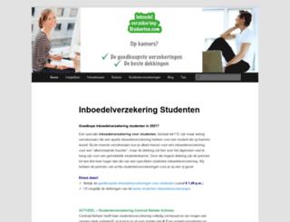 inboedelverzekering-studenten.com screenshot