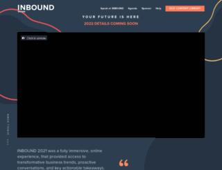 inboundconference.com screenshot