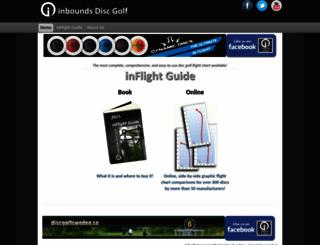 inboundsdiscgolf.com screenshot