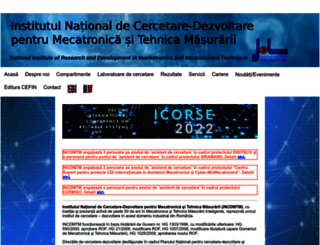 incdmtm.ro screenshot