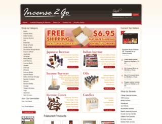 incense2go.com screenshot