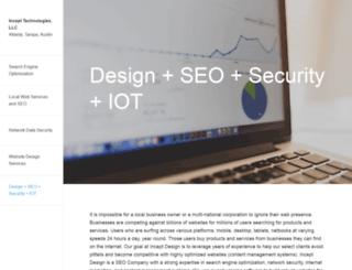 inceptdesign.com screenshot
