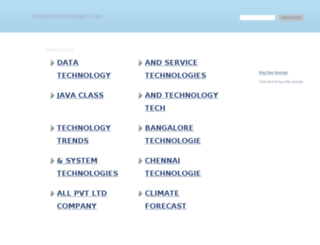 inceptratechnologies.com screenshot