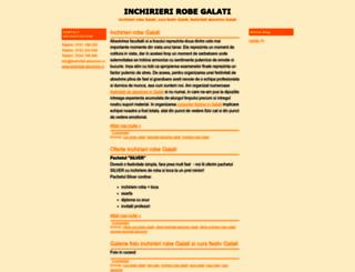 inchirieri-robe-galati.blogspot.com screenshot