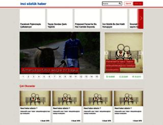 inci.haberself.com screenshot