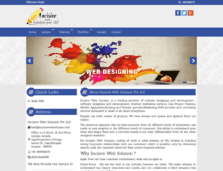 incisivewebsolution.com screenshot