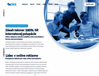 inclick.sk screenshot
