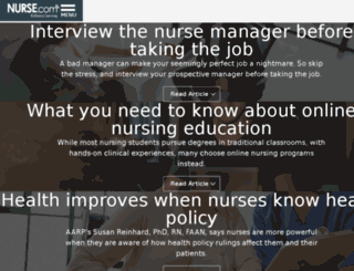 include.nurse.com screenshot