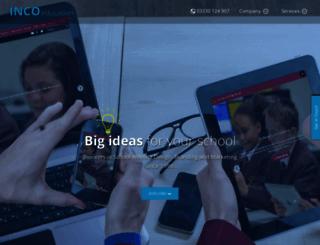 inco-education.co.uk screenshot