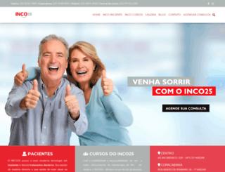 inco25.com.br screenshot