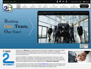 incomeclub.2konnect.net screenshot
