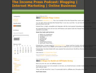 incomepress.libsyn.com screenshot